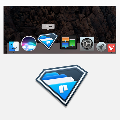 Icon for a file manager app