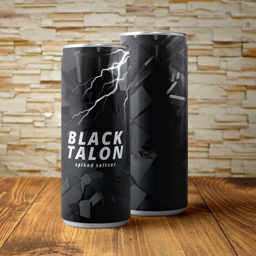 Black Talon spiked seltzer