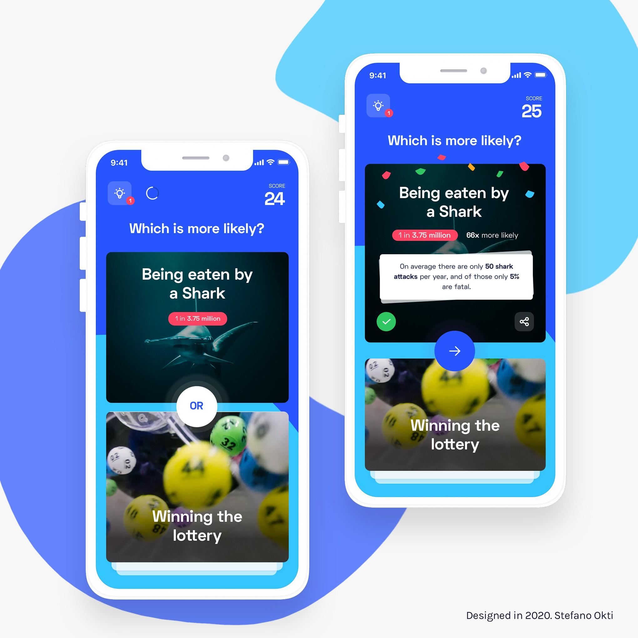 Probabilities iOS Game