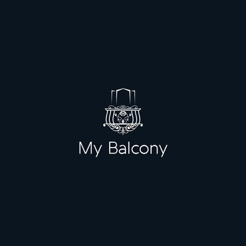 create a charming logo and CI packet for my balcony