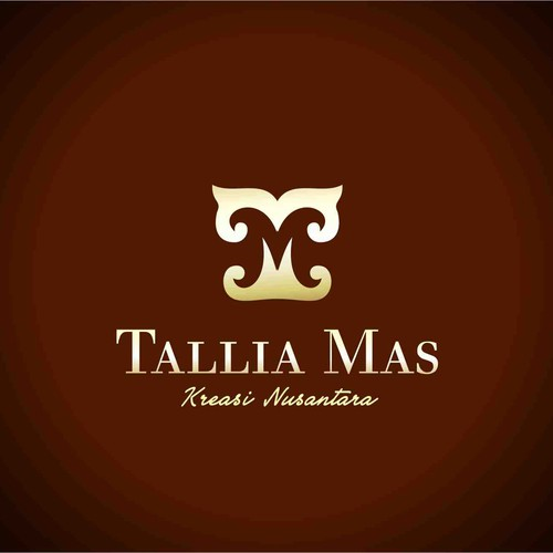 logo for a batik producer Tallia Mas