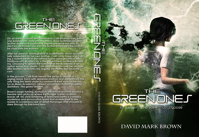 YA telekinetic dystopian cover design