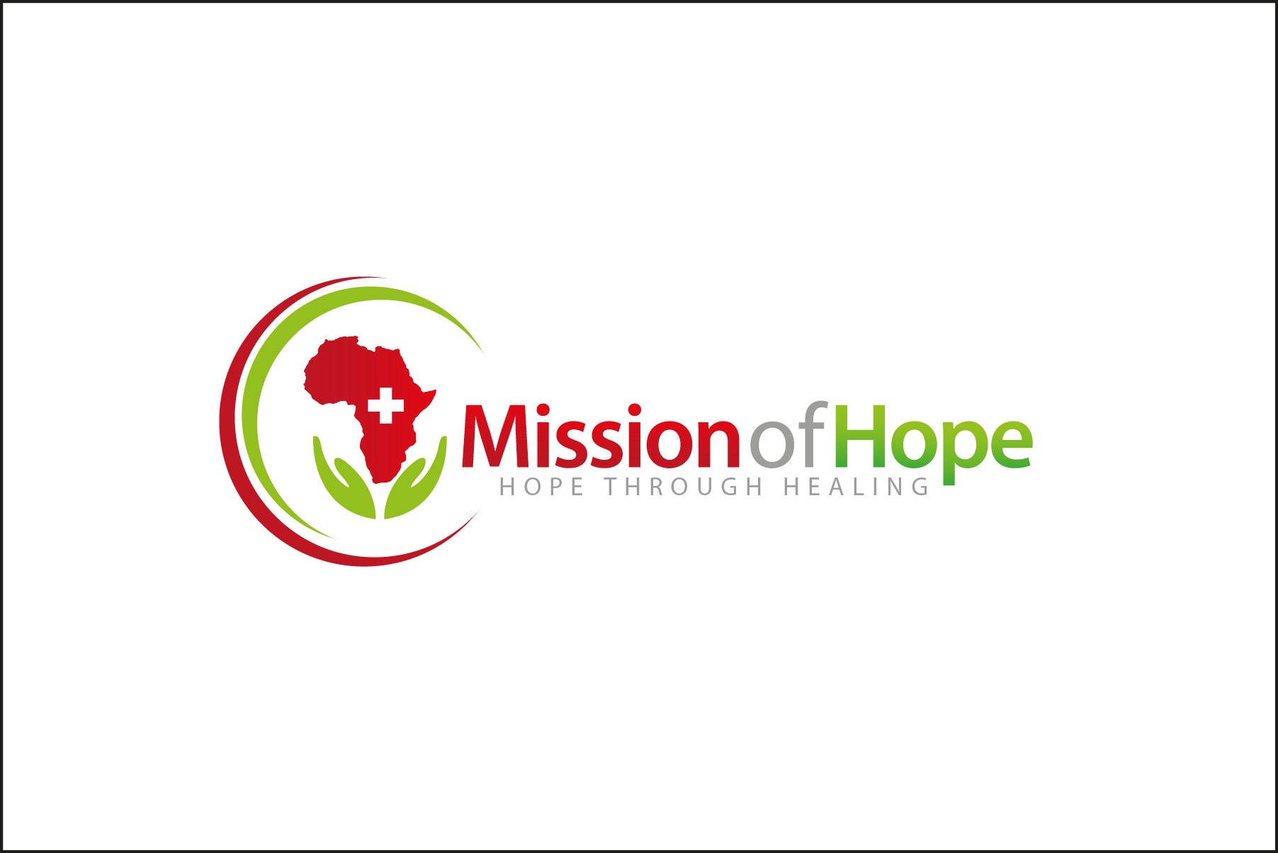 Create an inspiring, uplifiting illustration that relays hope and healing for Mission of Hope