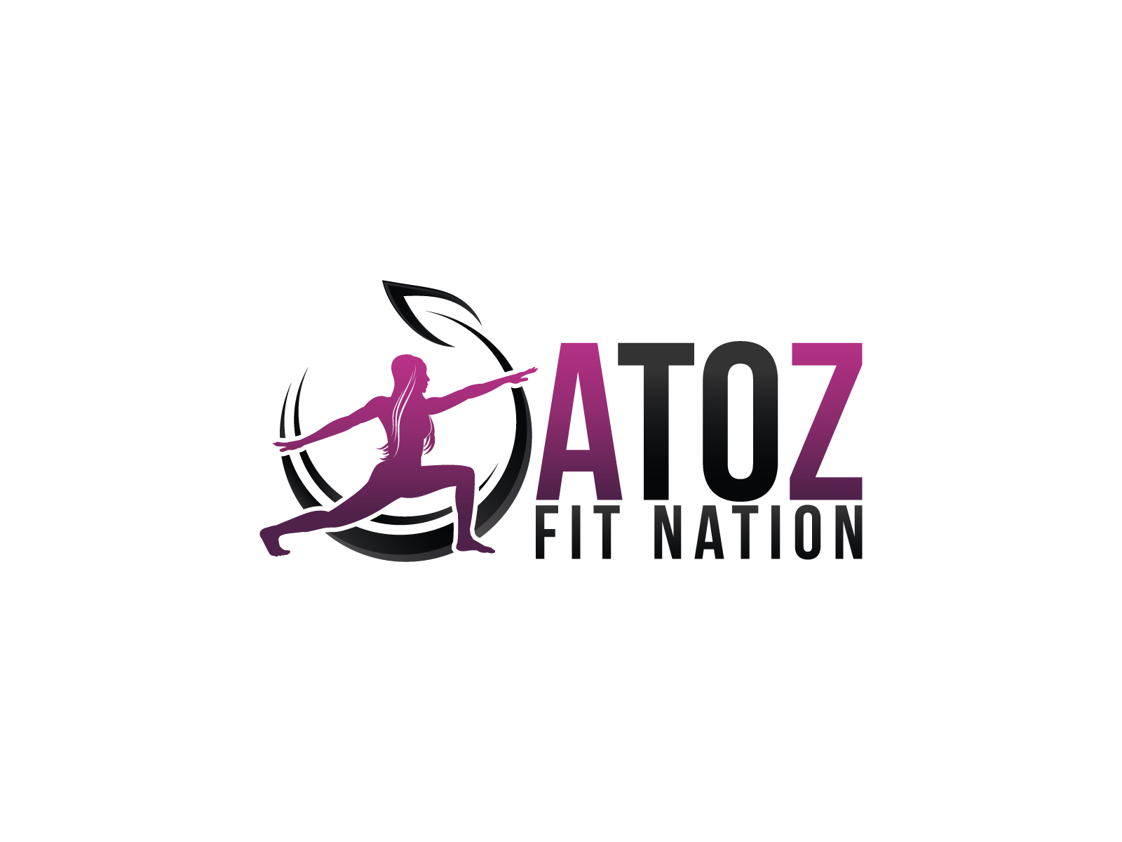 Create Logo For Fitness Brand: A To Z Fit Nation