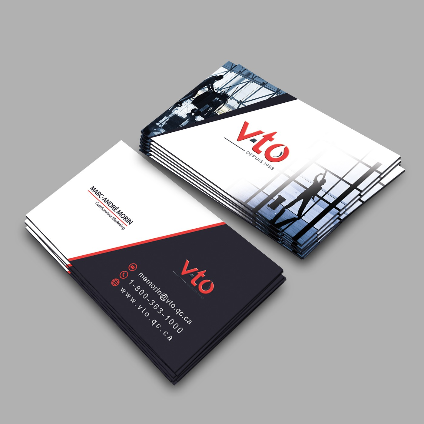 Business card for V-TO