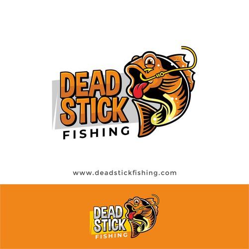 Logo for dead stick fishing