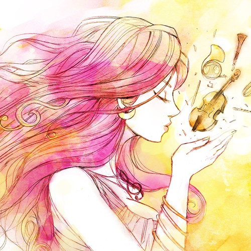 Illustration for Serasymphony 2 and their Music Album: The American Music of Sailor Moon