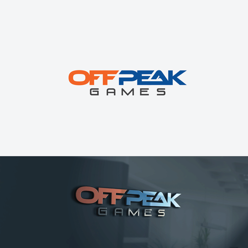 Bold logo For OffPeak Games