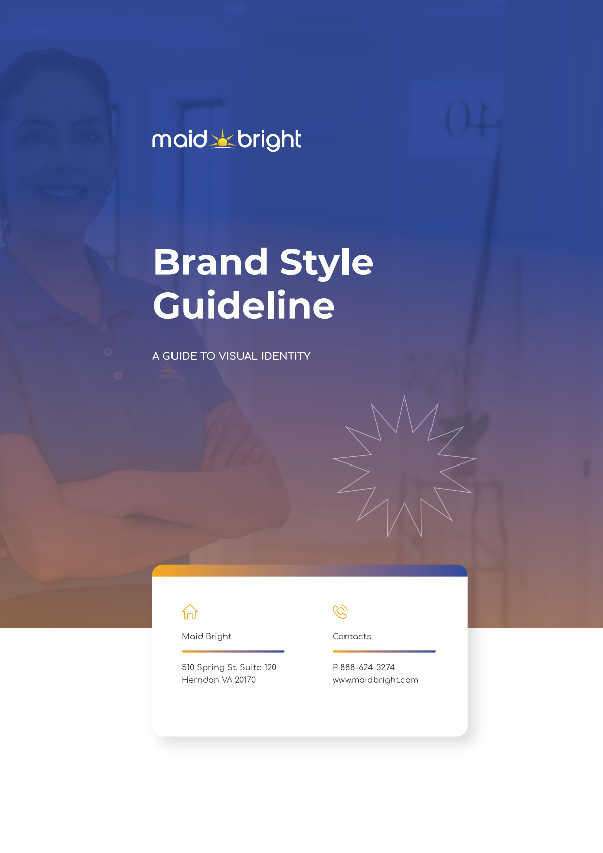 Maid Bright Cleaning | Logo & Brand Guide
