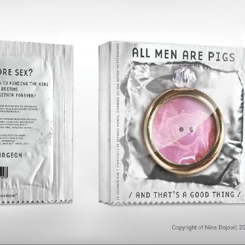 "New book or magazine cover wanted for  ""All Men Are Pigs"""