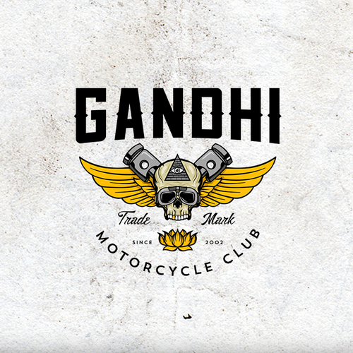 Logo Design Entry for Gandhi Motorcycle Club