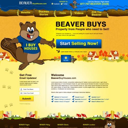 Website Design for BeaverBuysHouses.com