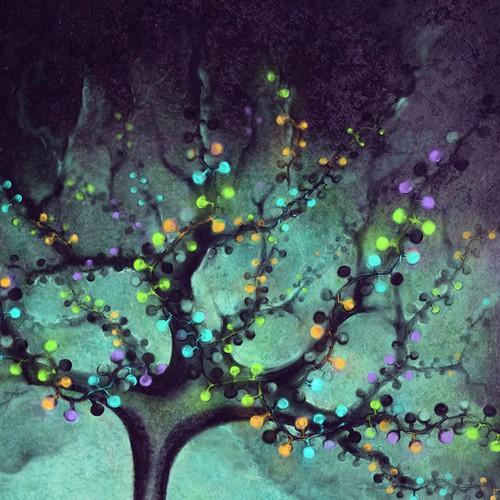 Illustration for the cover of prestigious neuroscience journal, Neuron