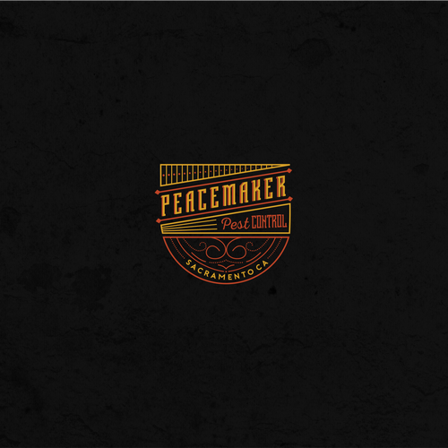 Classic logo for Peacemaker Pest Control