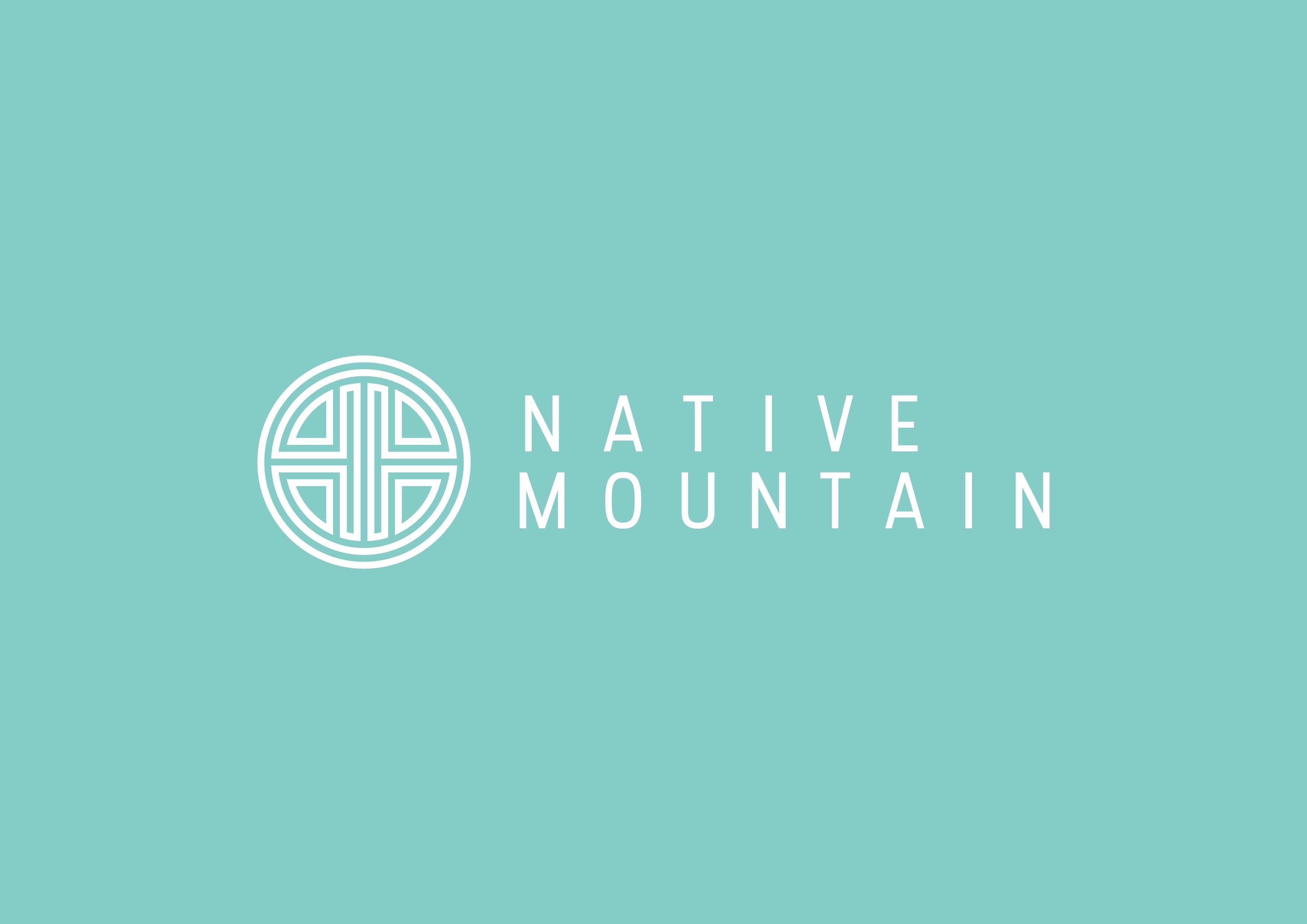 Design a crisp logo and business card for Native Mountain