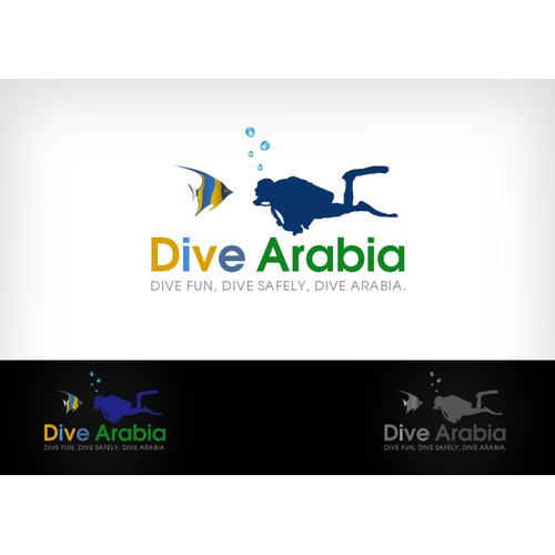 Wanted !!! Simple,Modern,Symbolic,Attractive LOGO Design Needed for Scuba Diving Industry Dive Arabia Company