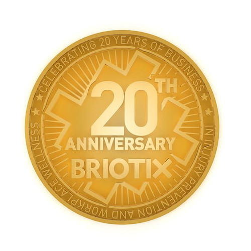 Create a 20th Anniversary Emblem