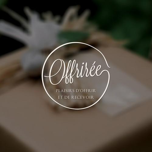 Créer une identité pour une boutique atelier éphèmere dédiée  au packaging cadeau et à la décoration