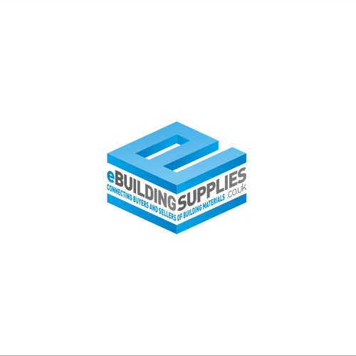 Conceptual logo for building supplies warehouse