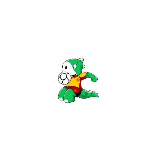 Soccer Website Mascot