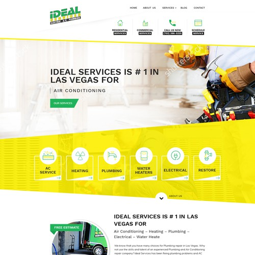 Creative design for Ideal Services