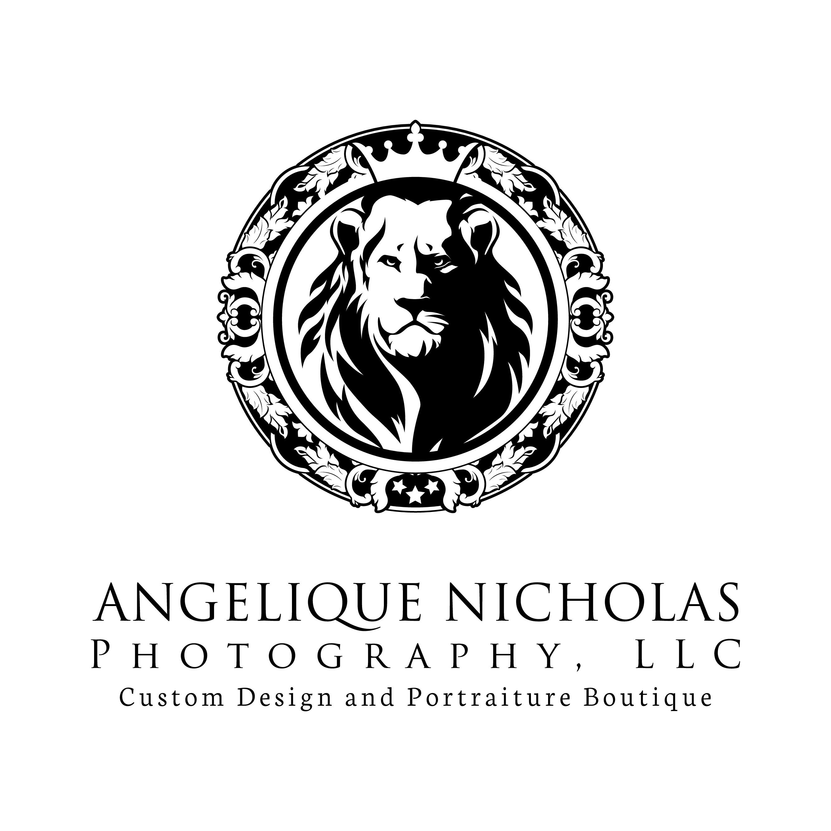 Design a fancy, luxurious, regal logo for my Boutique Portrait photography business