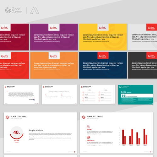 Presentation Template for Global consulting business