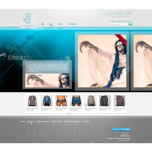 Create the next Web Page Design for Straughn Barbados