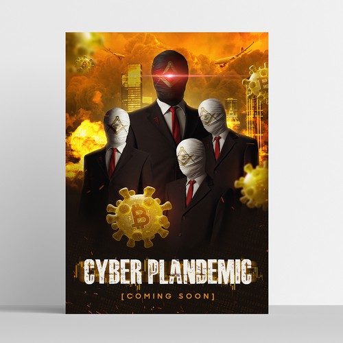 Cyber Plandemic Poster