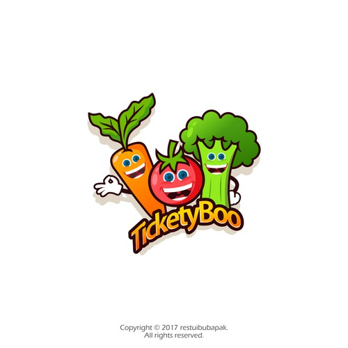 "Create a ""tickety boo"" logo for Odeum Farms in Australia"