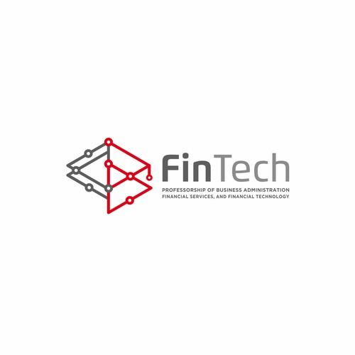 Design Logo For FinTech University Chair