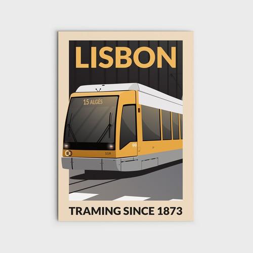 Vehicle Illustration Poster
