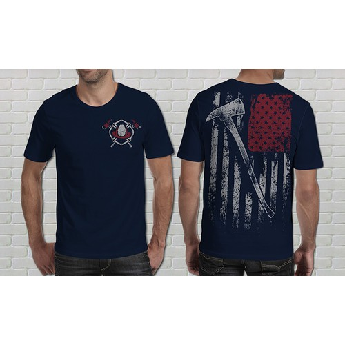 Create an American Firefighter shirt. Something they can be proud of!