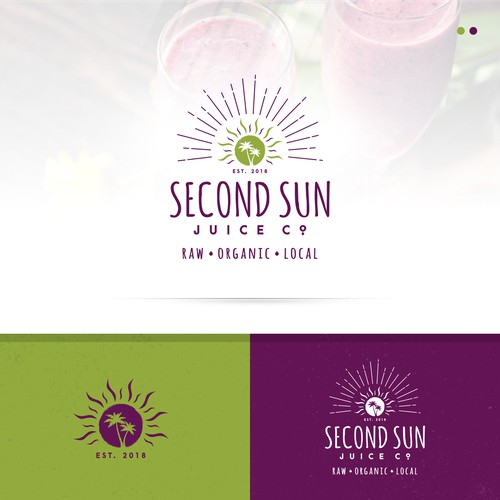 An Organic Juice Logo for Second Sun