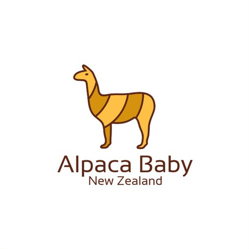 Alpaca baby logo