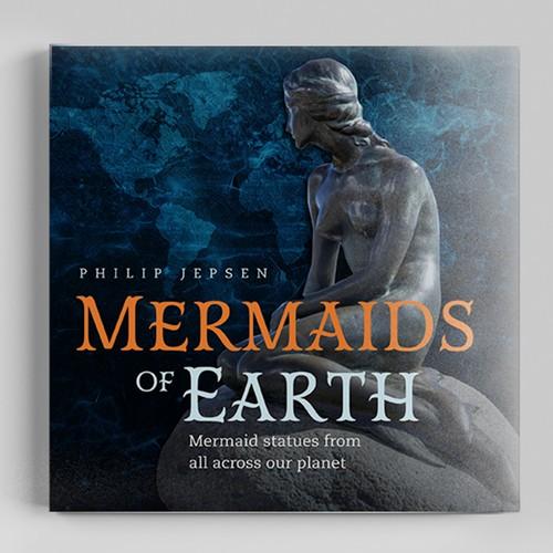 Coffee Table Book Celebrating Mermaid Statues