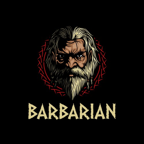 BARBARIAN Logo Designs