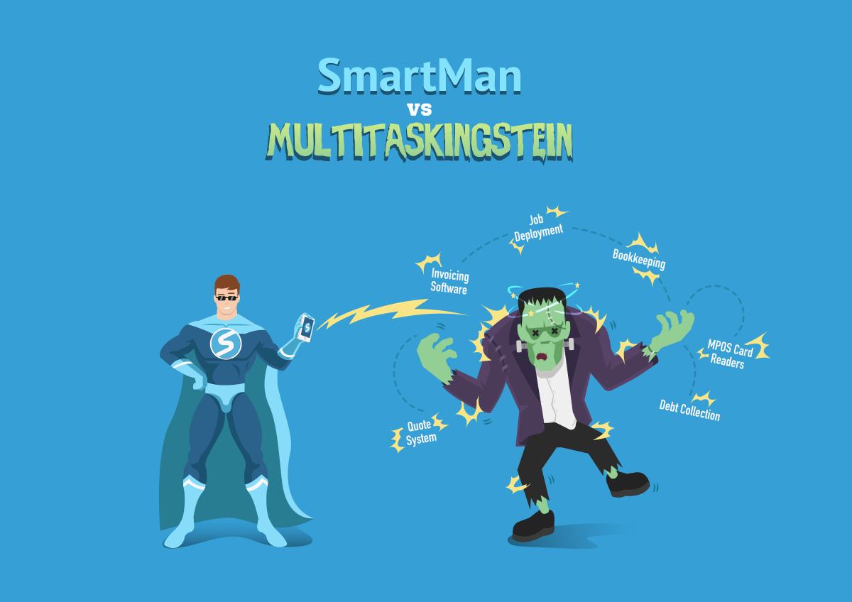 Smartman vs Frankenstein