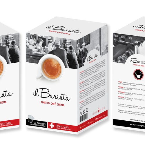 PRIVATE LABEL DESIGN FOR COFFEE PODS
