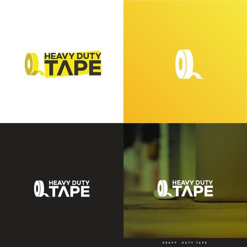 Heavy Duty Tape Logo