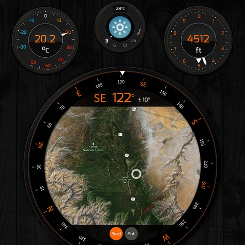 Hiking Tools App