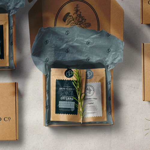 Grow Good Co Packaging