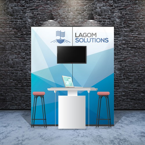 Banners for LAGOM Solutions