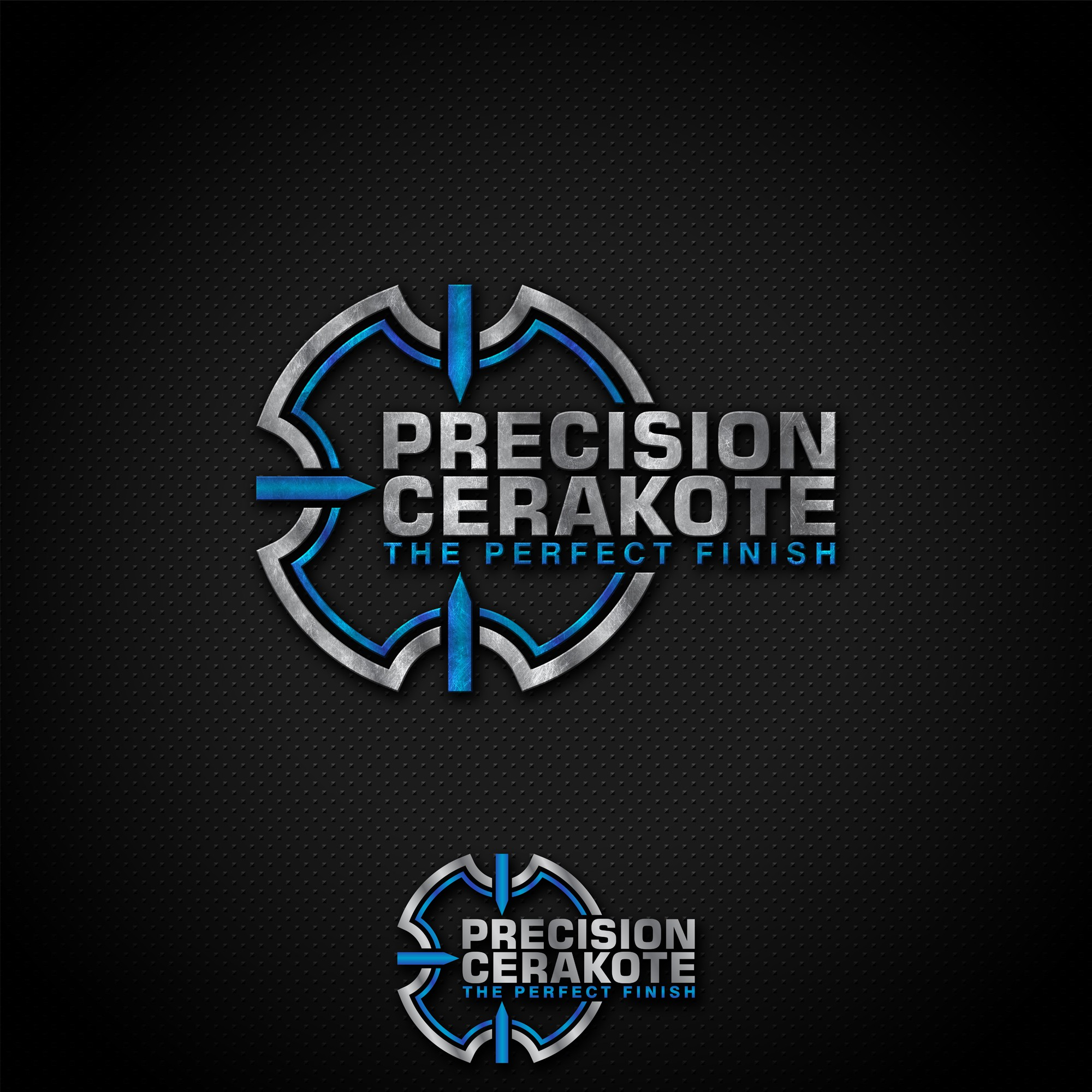 logo/business card design. POSSIBLE FUTURE WORK. Customized state of the art firearms coatings