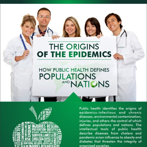 """Create a flyer for the UAB School of Public Health """"Origins of the Epidemics"""" undergraduate course"""
