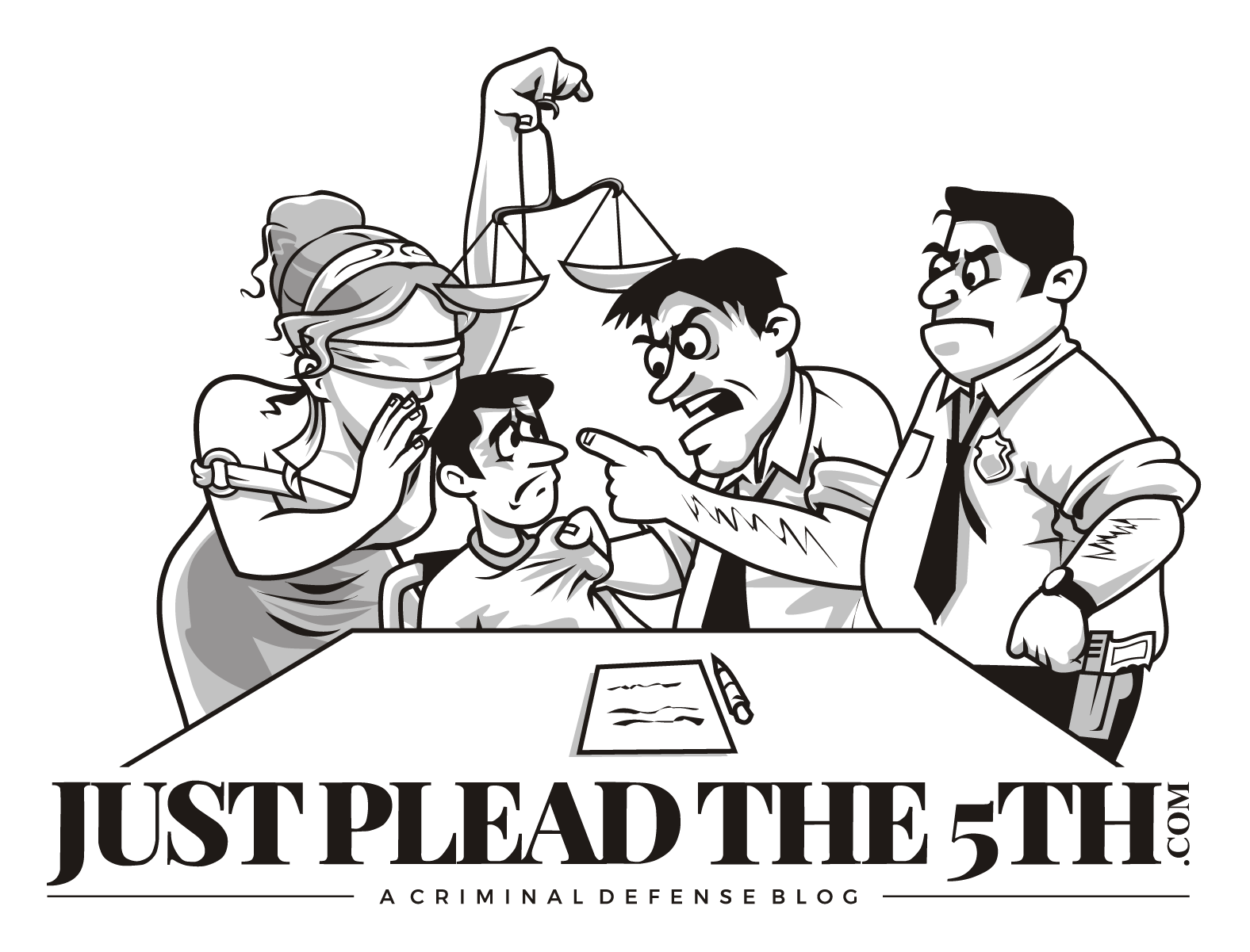 Design a classy, but fun logo for JustPleadThe5th.com