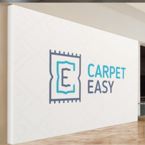 Logo concept for a young carpet company