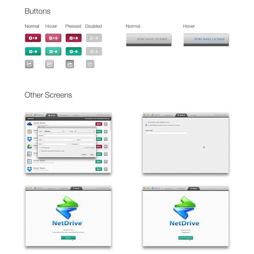Desktop App Design Wanted for NetDrive