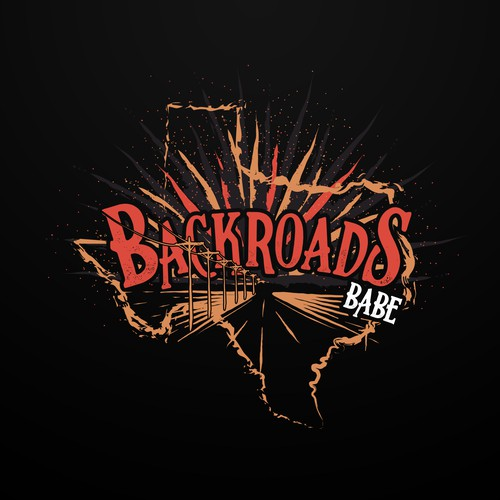 Backroads Babe t-shirt
