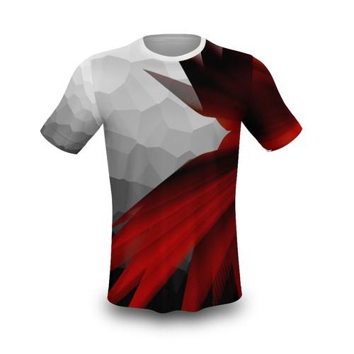 Badminton Sport T-Shirt